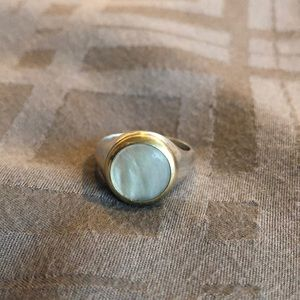 Tiffany and Co. Vintage 18k &925 w/Mother of Pearl
